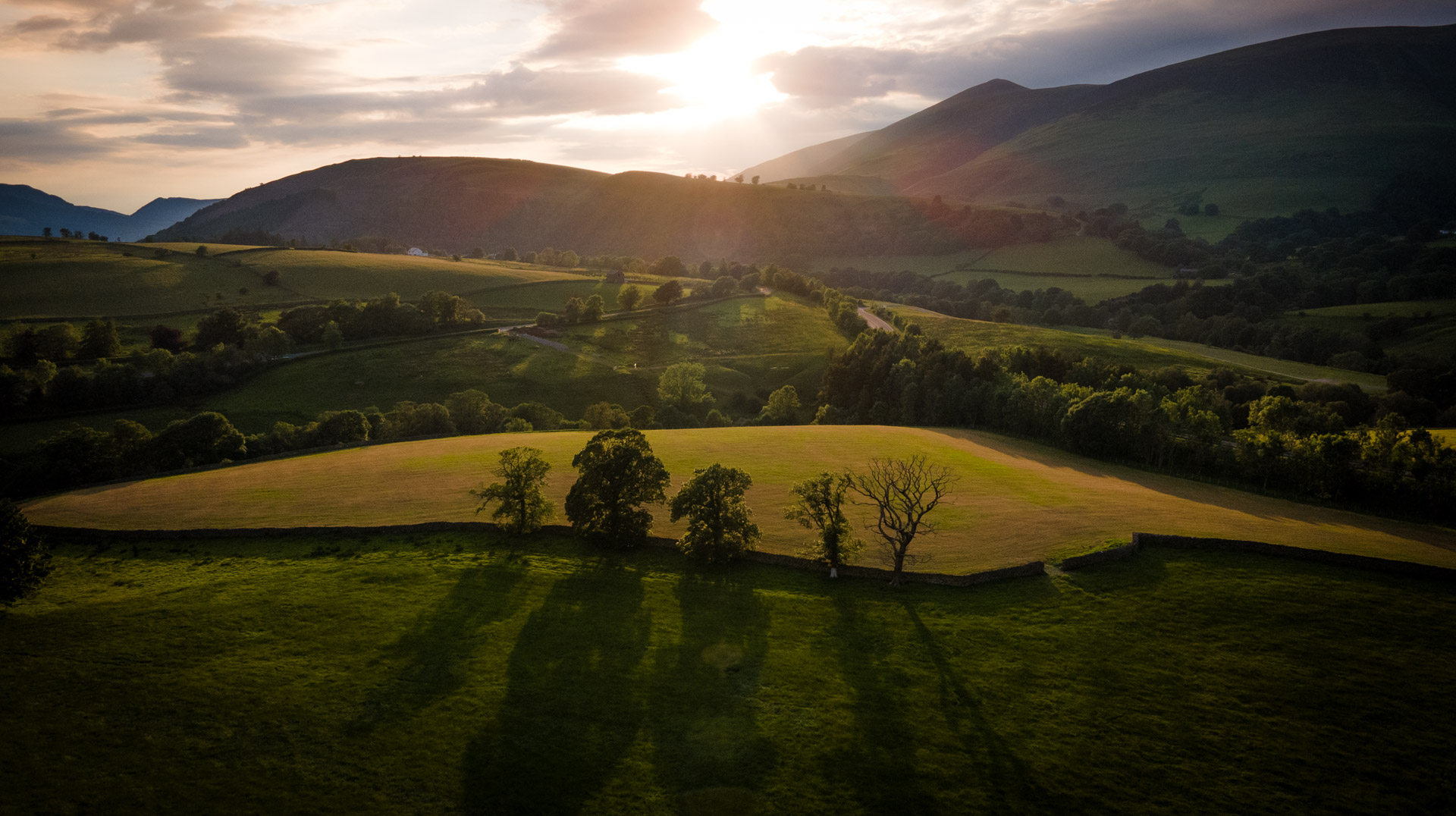 Aerial Photography The Lake District