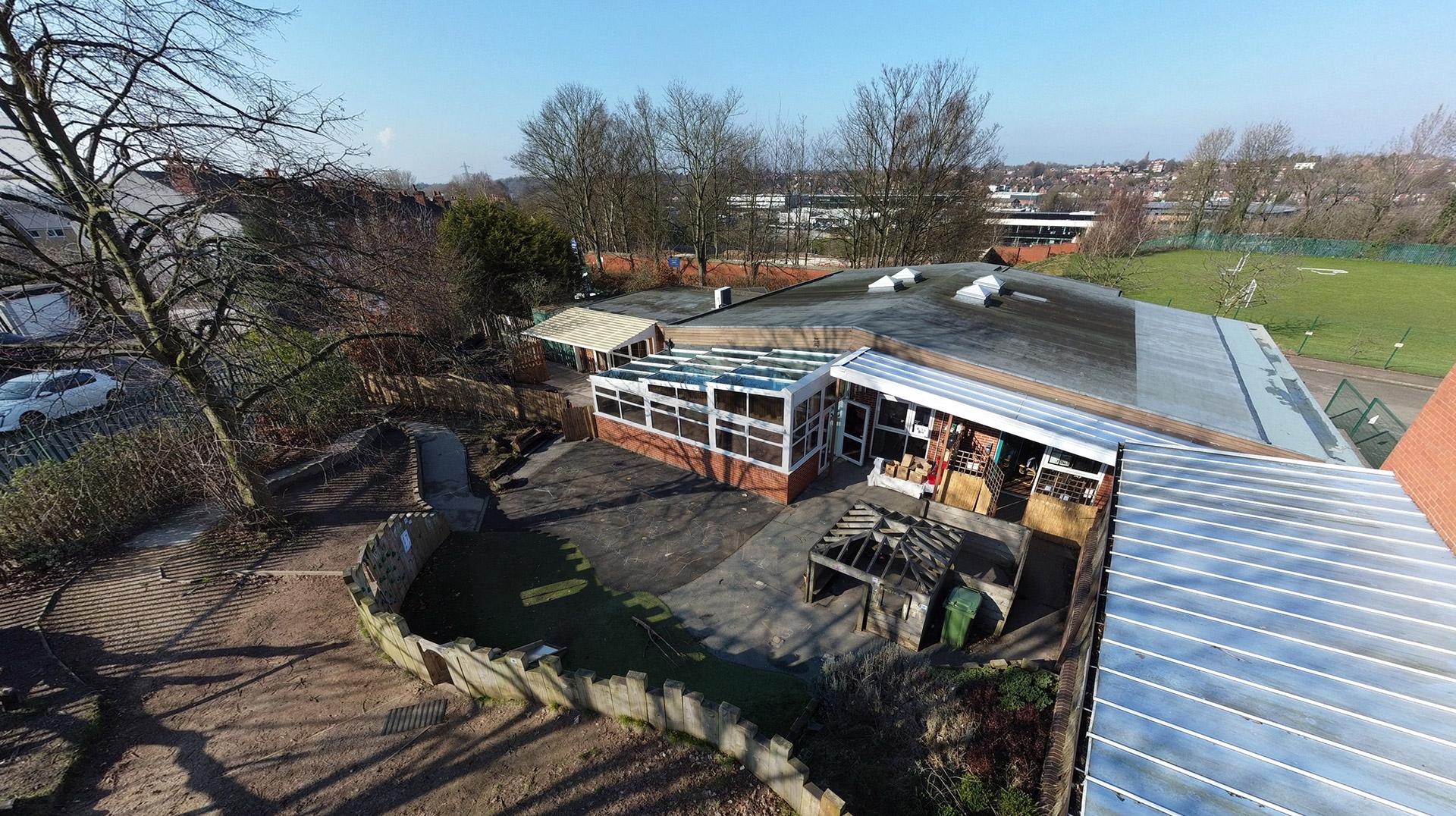 Nursery Aerial Photography